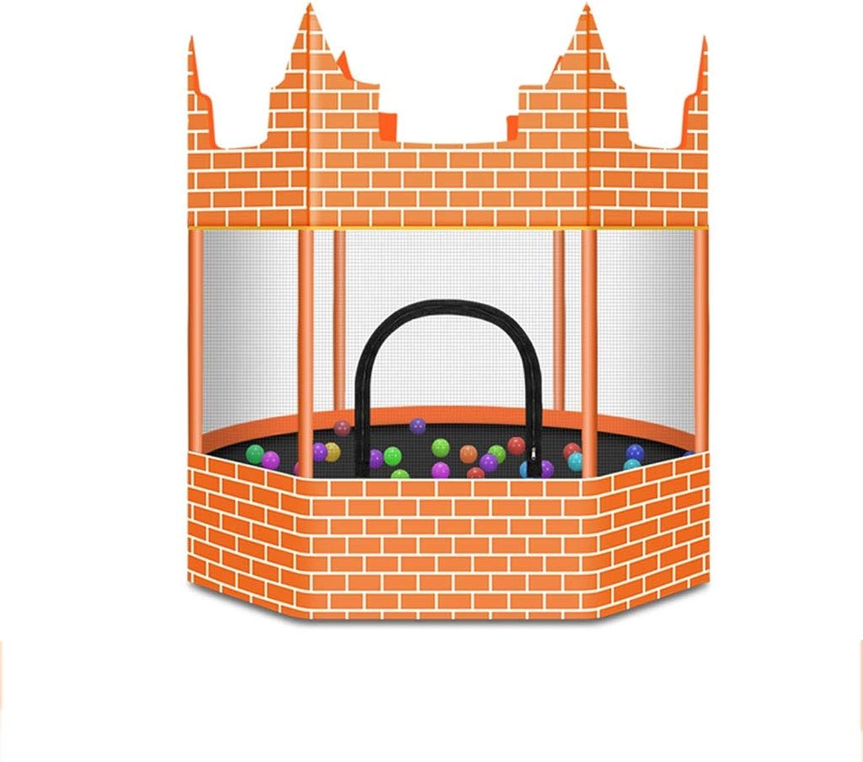 el estilo clásico MGMDIAN Castillo de de de Cama elástica para Niños en casa, Cama de Rebote para bebés, Resistente, no rodante, Niños Adultos con rojo de Juguete Que rebota  oferta de tienda