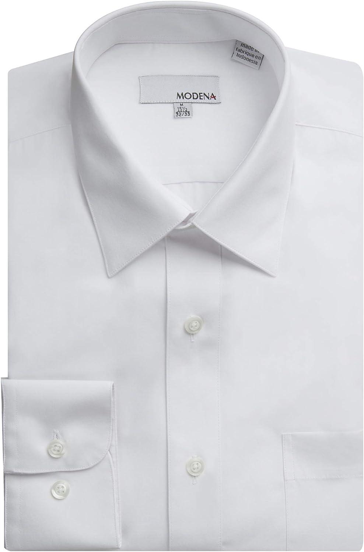 Modena Men's Regular Contemporary 2021new shipping free shipping Long Slim shopping Sleeve Fit