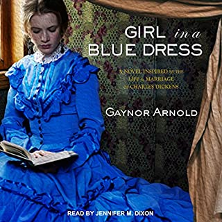 Girl in a Blue Dress audiobook cover art