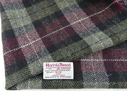 Authentic Harris Tweed Stoff 100% reiner Schurwolle mit .. Etiketten, 75 x 50 cm-ref. au01 --- Siehe...