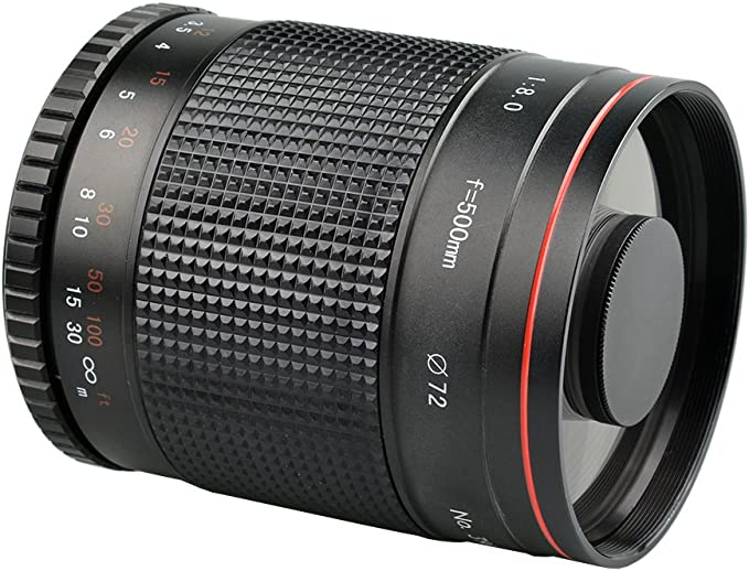 research.unir.net 420-800mm f8.3 Telephoto Lens for Micro M4/3 GH4 ...