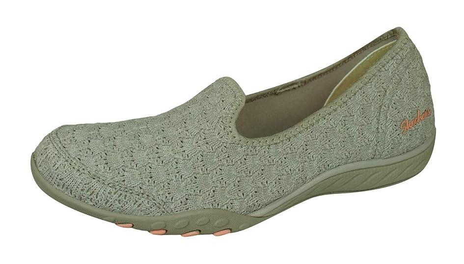 セーター憧れ大破Breath Easy Be Somebody Womens Slip on Walking Shoes [並行輸入品]