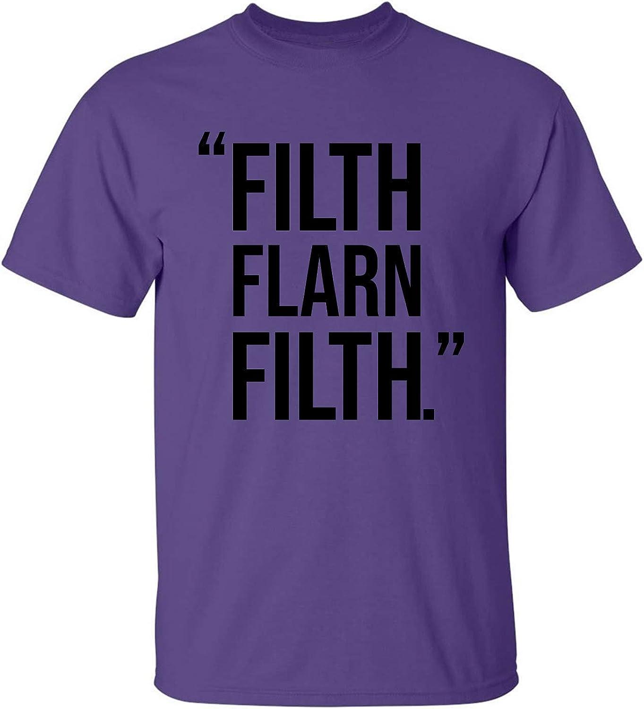 zerogravitee Filth FLARN Filth Adult Short Sleeve T-Shirt