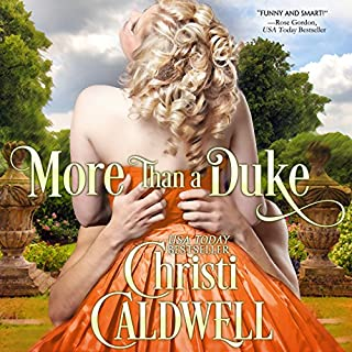 More than a Duke audiobook cover art