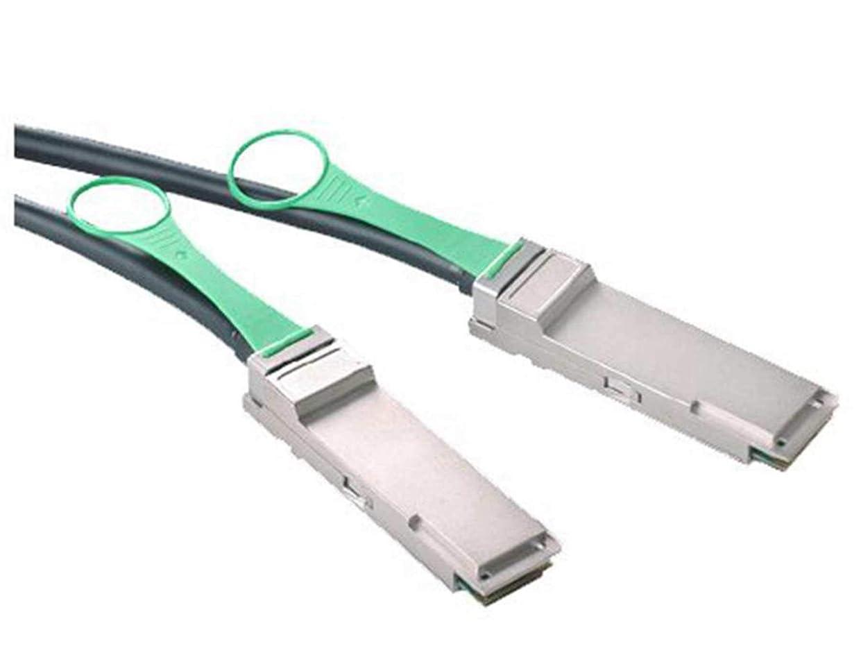 ラフ睡眠補償製油所LODFIBER 49Y7890 IBM対応互換 1m 40Gb/s QSFP+ to QSFP ダイレクトアタッチ ケーブル (DAC) パッシブ