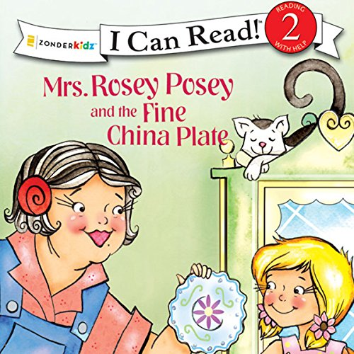 Mrs. Rosey Posey and the Fine China Plate audiobook cover art