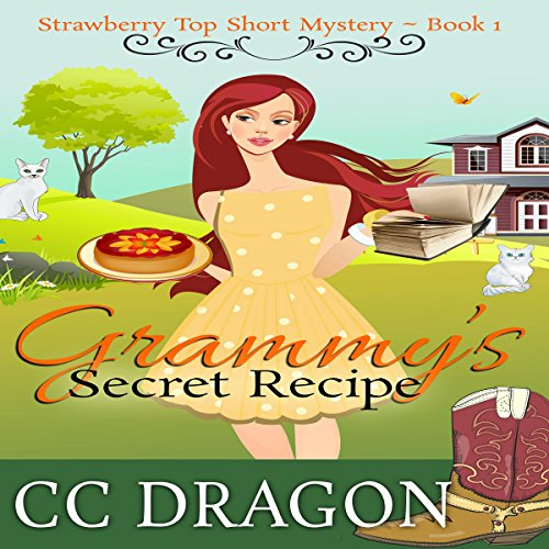 Grammy's Secret Recipe     Strawberry Top Short Mystery, Book 1              By:                                                                                                                                 CC Dragon                               Narrated by:                                                                                                                                 Lauri Jo Daniels                      Length: 2 hrs and 56 mins     2 ratings     Overall 4.5