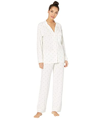 Eberjey Giving PJ Long PJ Set (Watermelons/Bellini) Women