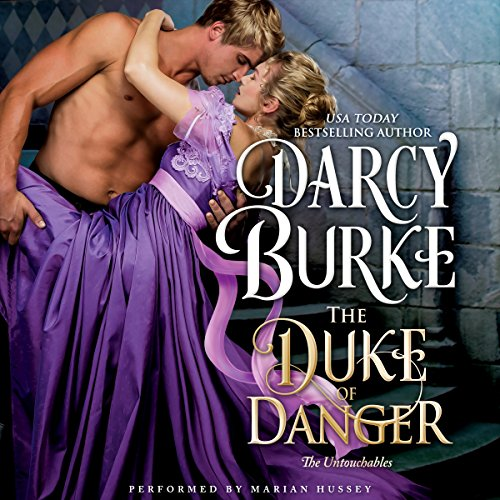 The Duke of Danger audiobook cover art