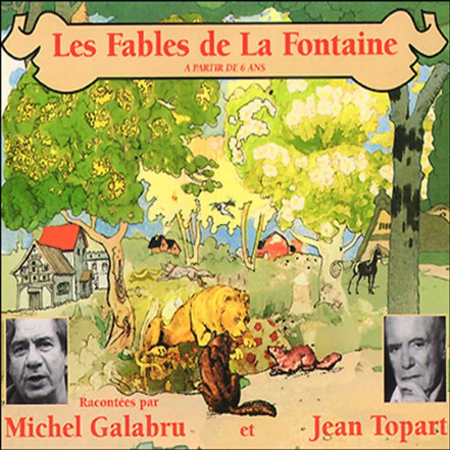 Les Fables de La Fontaine - volume 1 audiobook cover art