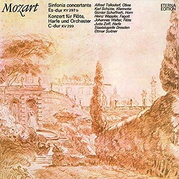 Mozart: Sinfonia concertante / Konzert für Flöte, Harfe und Orchester