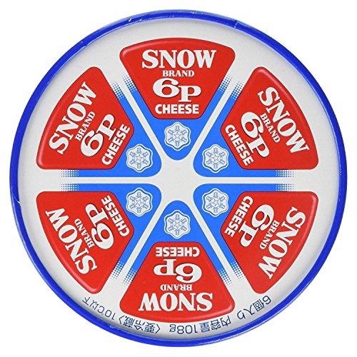 [冷蔵] 雪印メグミルク 6Pチーズ 108gX10