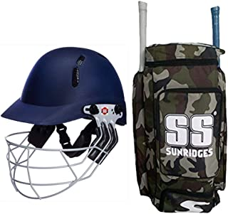 b35cd48c508 SS Best Sports 100% Original Brand Cricket Kit Bag Camo Duffle with SS Elite  Cricket