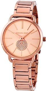 Women's Portia Three-Hand Rose Gold-Tone Stainless Steel Watch MK4331