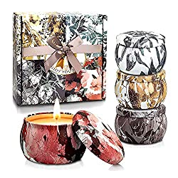 beautiful scented candle set