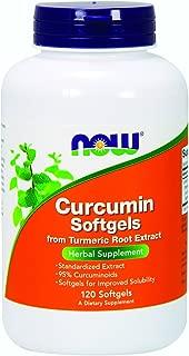 NOW Supplements, Curcumin (Curcuma longa), 120 Softgels