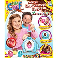 Cefa Chef Taller de Chocohuevos Sorpresa Lacasitos, Multicolor (CEFA Toys 88316)