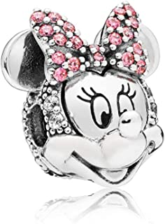 Disney Shimmering Minnie Portrait Clip Charm 797496CZS