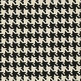 Fabulous Fabrics Halbpanama Natur, Hahnentritt, 140cm