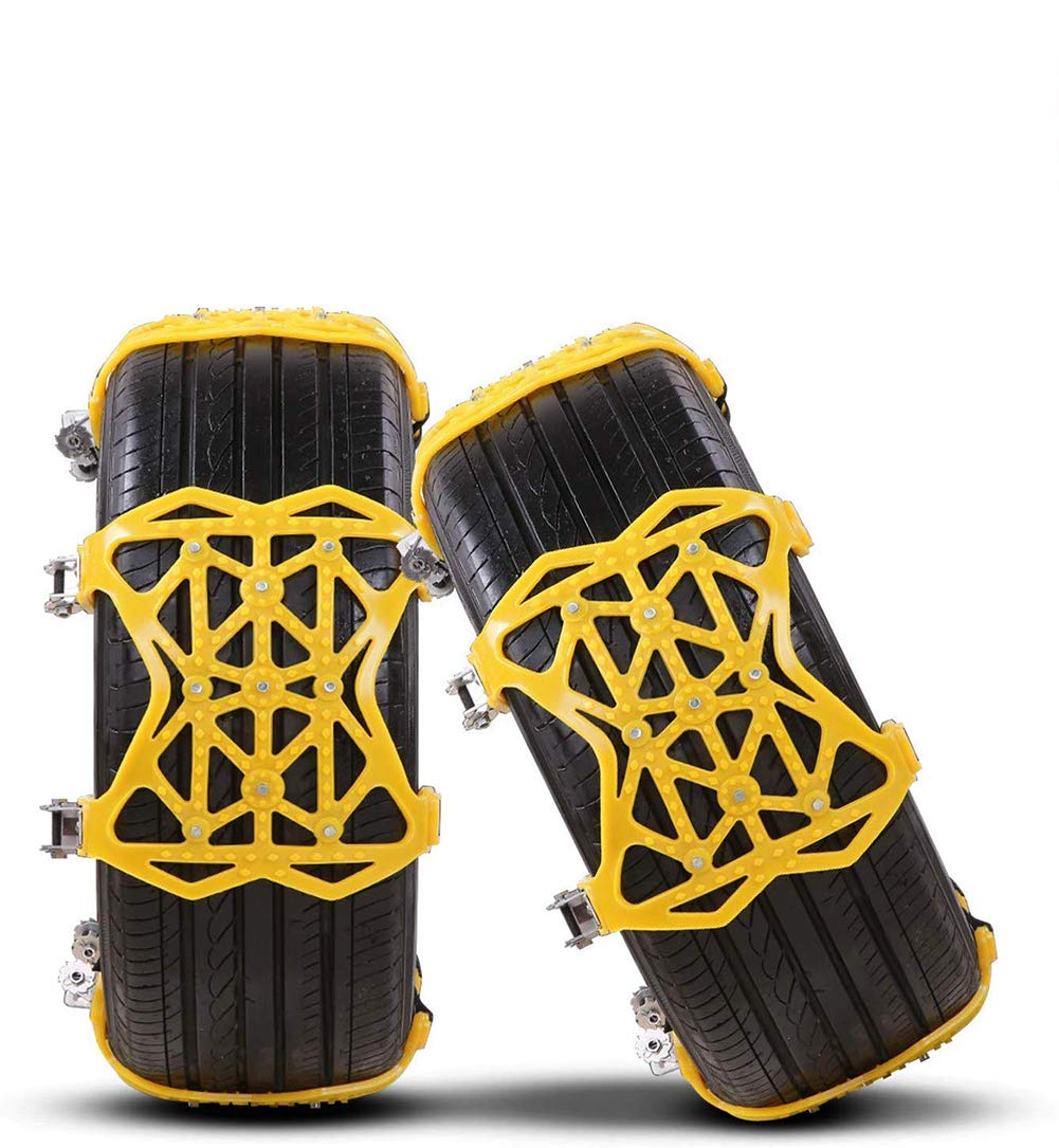 20pcs Anti Skid Nylon Tyre Chains Security Tire Belt Cable W//Gloves for Car Truck Snow Mud Car Fydun TIRE Chains