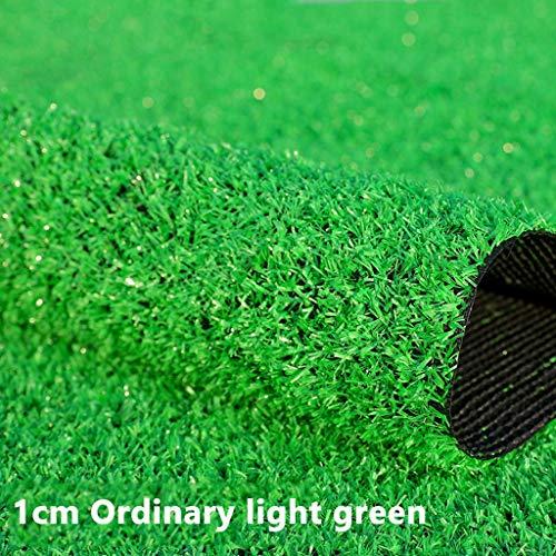 Wusfeng Hündchen Hoogwaardig kunstgras voor balkon waterdoorlatend weerbestendig UV-bestendig nep-gazon voor terras & tuin Micro Landschap Ornament Green