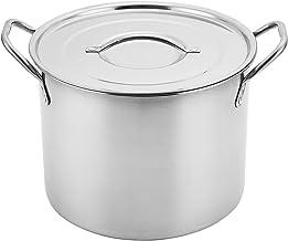 Aramco AI14437-16 Alpine Cuisine Stock Pot, 16.5-Quart, Stainless Steel