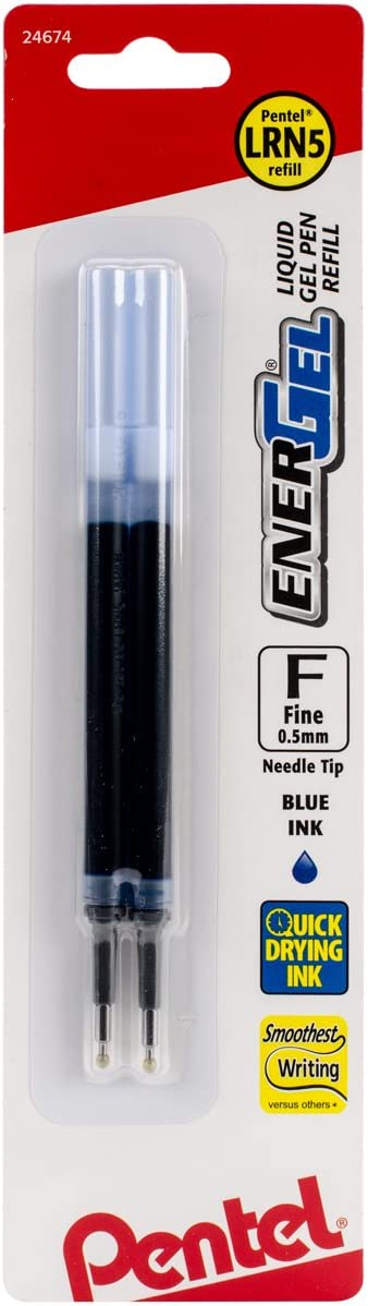Pentel Refill Ink For EnerGel Needl Selling Gel 0.5mm Pen Lancelot 2021 autumn and winter new