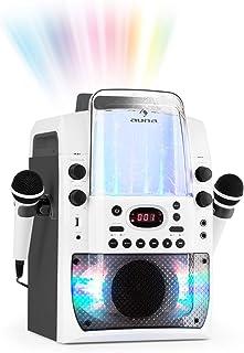 Auna Kara Liquida BT - karaokesysteem, karaokesysteem, karaokeset, meerkleurig LED-lichteffect met fontein, MP3-compatibel...