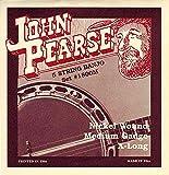 John Pearse Strings 1800M Jeu de Cordes pour Banjo 5-Cordes - Nickel Wound...