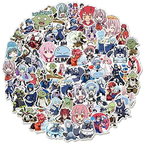 That Time I Got Reincarnated As A Slime Anime Graffiti Stickers For Laptop Motorcycle Luggage Waterproof Decal Toys100Pcs