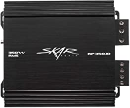 Skar Audio RP-350.1D Monoblock Class D MOSFET Amplifier with Remote Subwoofer Level Control, 350W