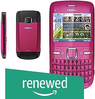 (Renewed) Nokia C3-00 (Pink)