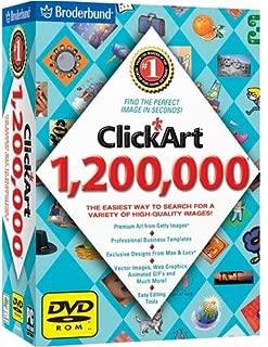 Clickart 1.2 Million DVD 2006 By Broderbund