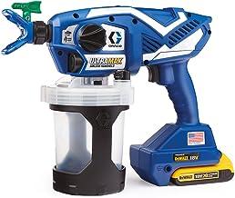 Graco Ultra Max Draadloze handsproeier voor waterige en oplosmiddelhoudende materialen.