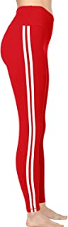 Best leggings with red stripe Reviews