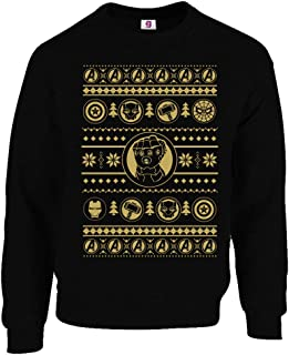 Graphic Impact Inspired Movies Freak Ugly Sweater Christmas Jumper Xmas