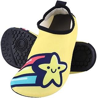 Yuanhua 1 Beach Shoes, Non-Slip Swimming Barefoot Socks Quick-Dry Aqua Socks for Beach Surf Barefoot Socks Snorkeling Socks