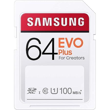 Samsung EVO Plus SDカード 64GB SDXC UHS-1 U1 100MB/s MB-SC64H/EC 国内正規保証品