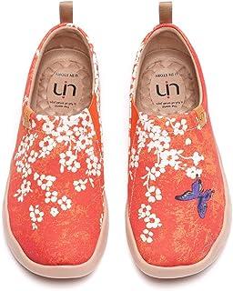UIN Taudes von Gaudi Gedruckte Damen Canvas Slip-on Schuhe M