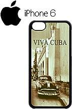 Perky Clothing Viva Cuba Classic Car Retro Swag Mobile Phone Case Back Cover Funda Negro Blanc Para iPhone 6 Black