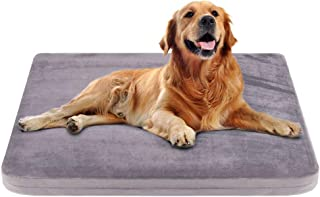 JoicyCo Large Dog Bed Crate Pad Dog Mat Mattress Pet Beds Foam Cushion Anti-Slip with Washable Cover