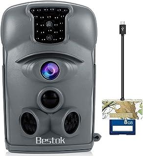 Bestok Trail Camera 12MP 120° HD Game Camera Night Vision...