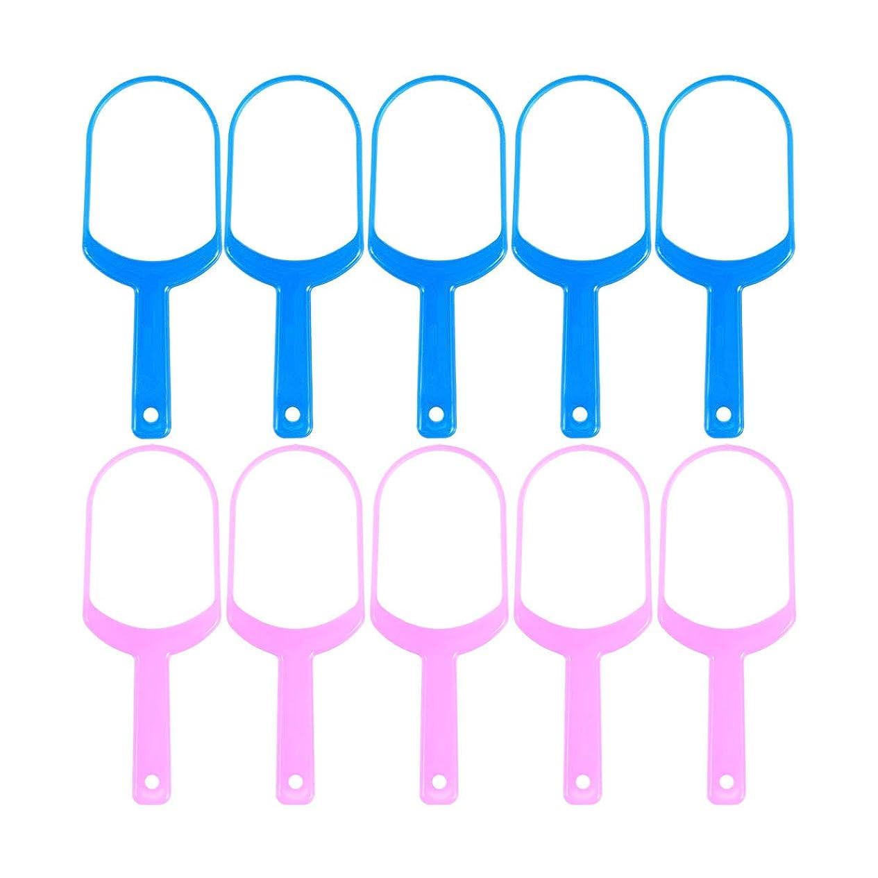 ブラインド共感する伝記Healifty 舌スクレーパークリーナー舌クリーナーリムーバー10個(5 *ピンク+ 5 *ブルー)