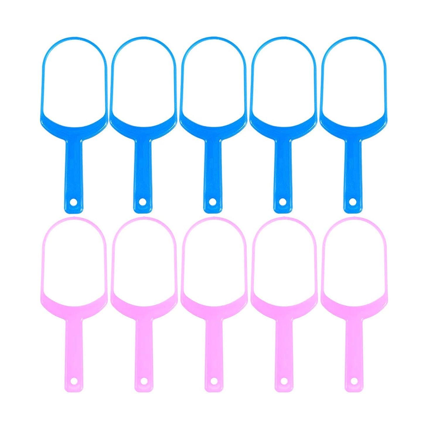 仕事次プロポーショナルHealifty 舌スクレーパークリーナー舌クリーナーリムーバー10個(5 *ピンク+ 5 *ブルー)