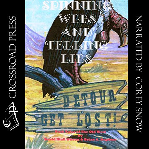 Spinning Webs and Telling Lies audiobook cover art
