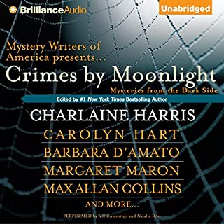 Crimes by Moonlight audiobook cover art