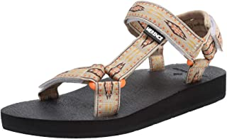 CIOR Women's Sport Sandals Hiking Sandals with Arch Support Yoga Mat Insole Outdoor Light Weight Water Shoes,U119SLX022-Be...