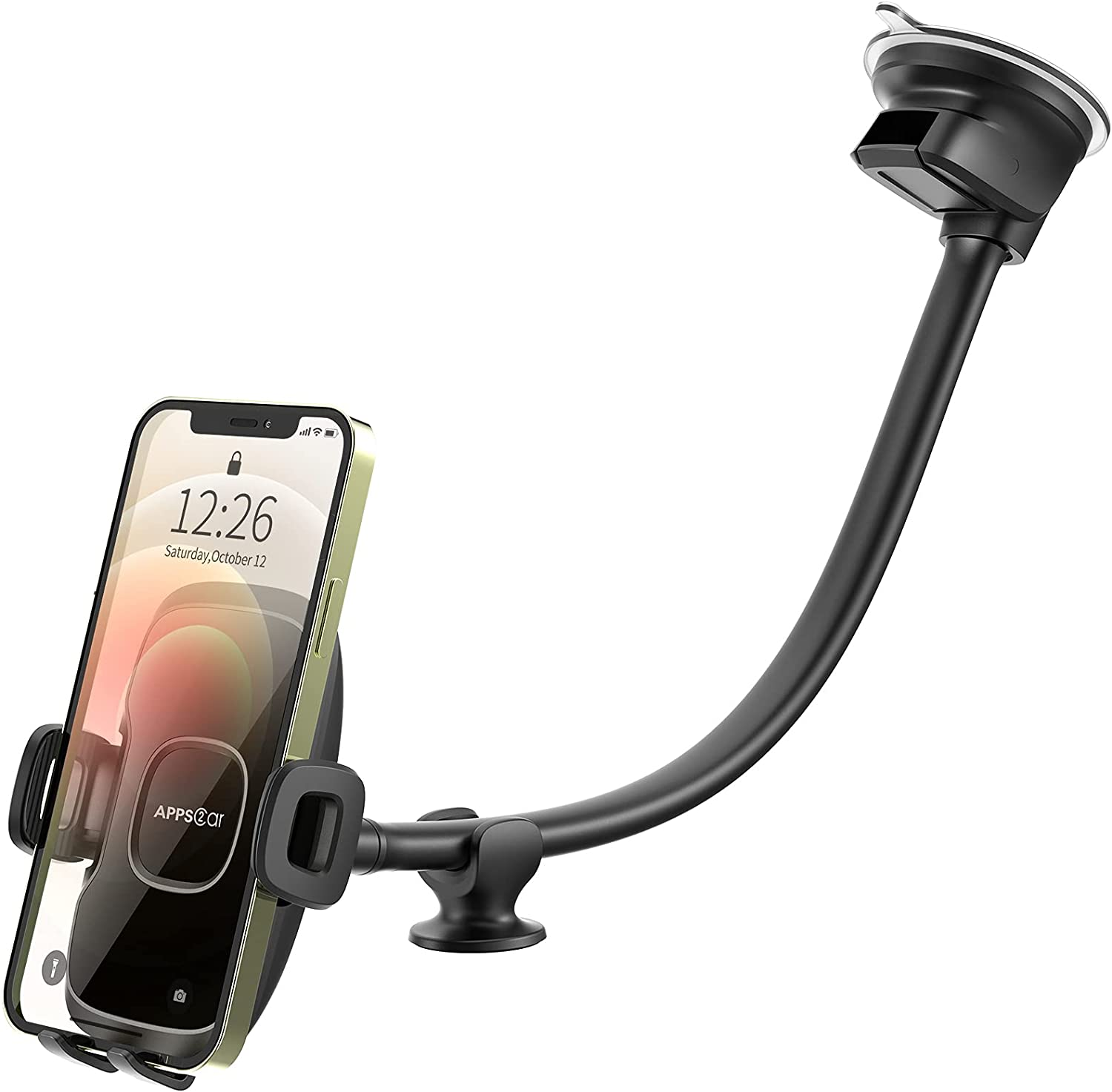 APPS2Car Windshield Dashboard Phone Mount for Ford Transit