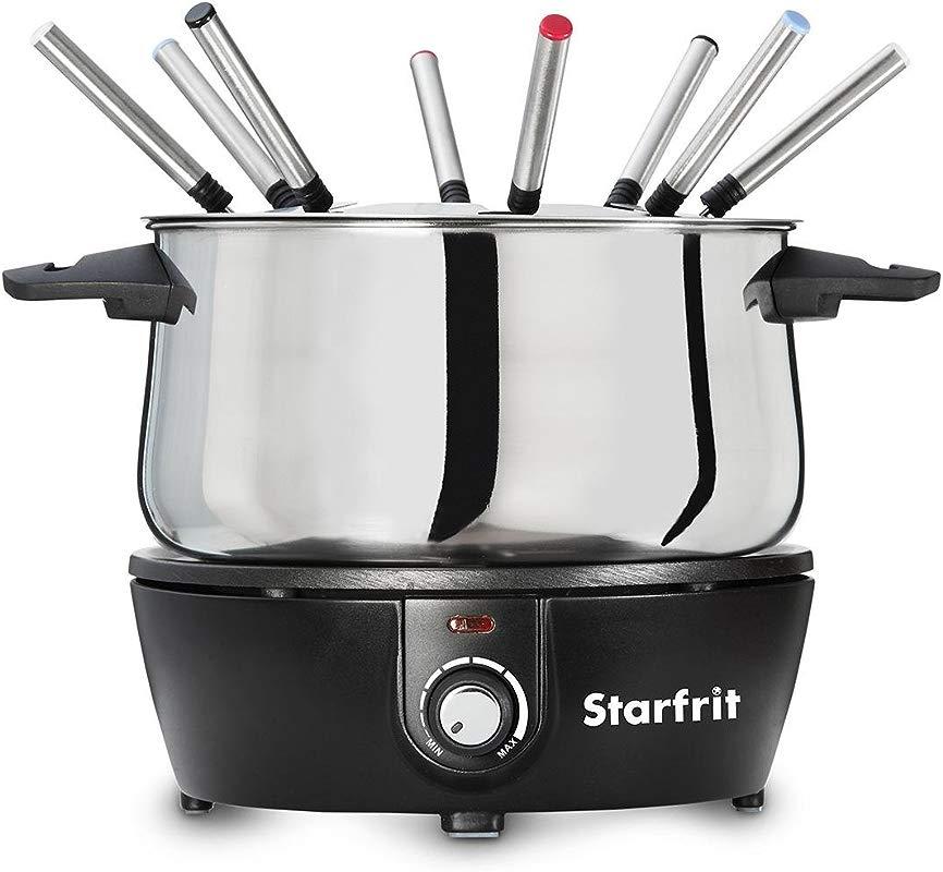 Starfrit 024700 004 0000 Electric Fondue Set 9 8 9 7 Quotx 7 9 Quot Black