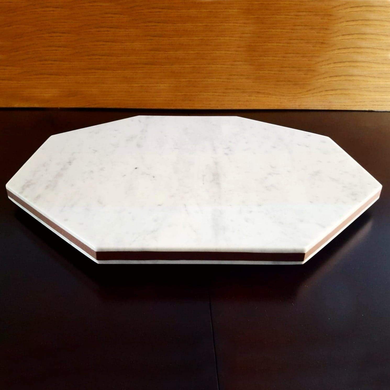White Large All stores are sold Sale Geometric Marble Cake Stand for Rose Gold Wedd Decor